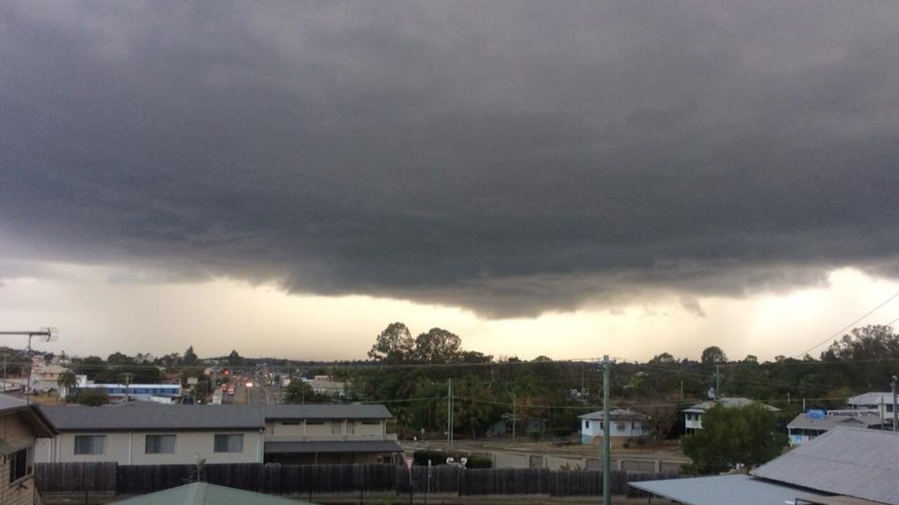 Some models have Gympie tipped to receive 100mm or more of rain over the next two weeks.