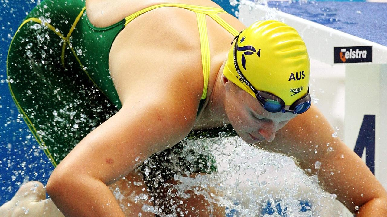 Leisel Jones is the only Australian swimmer to compete at four Olympics and bring home medals.