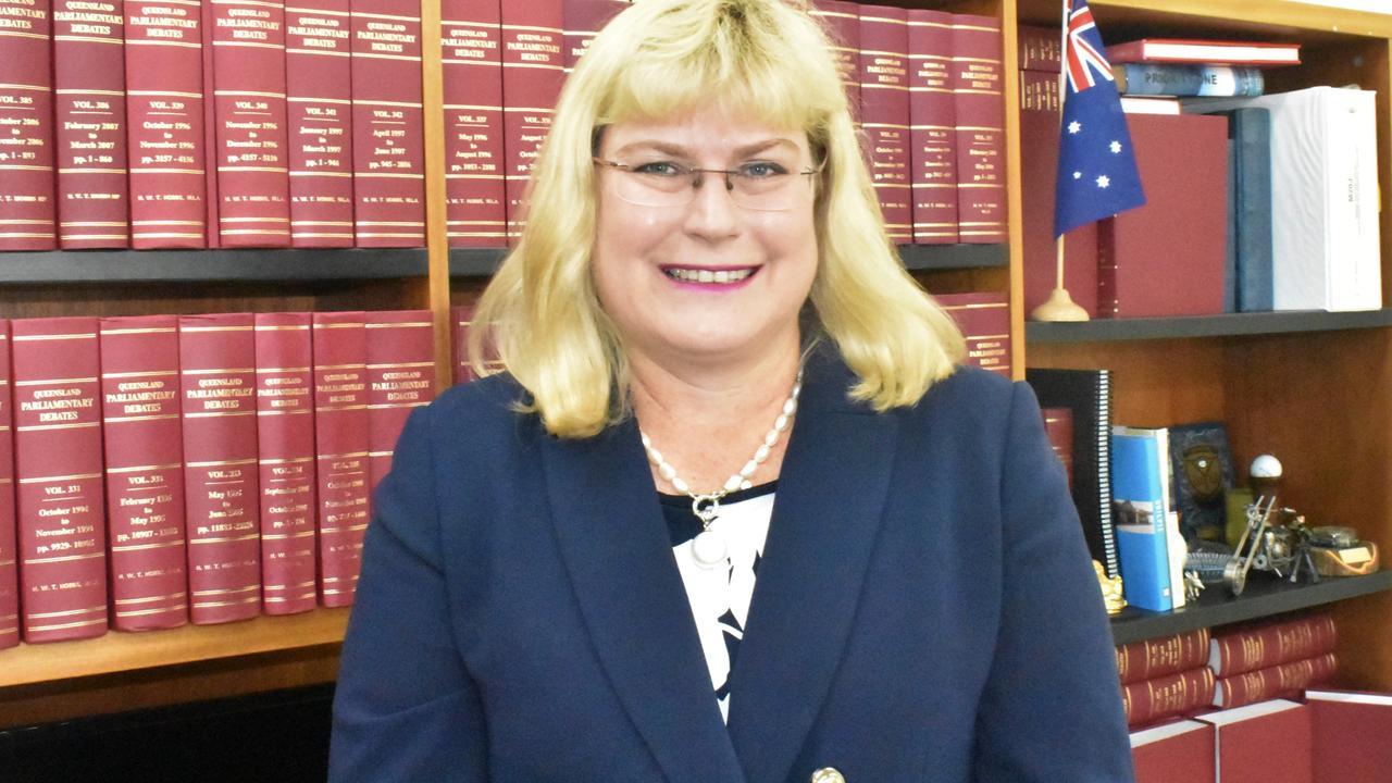 Warrego MP Ann Leahy.