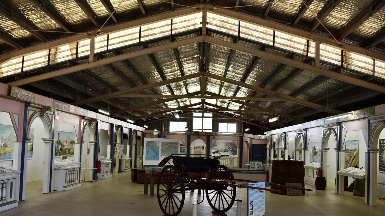 The Italian Pavilion at New Italy.