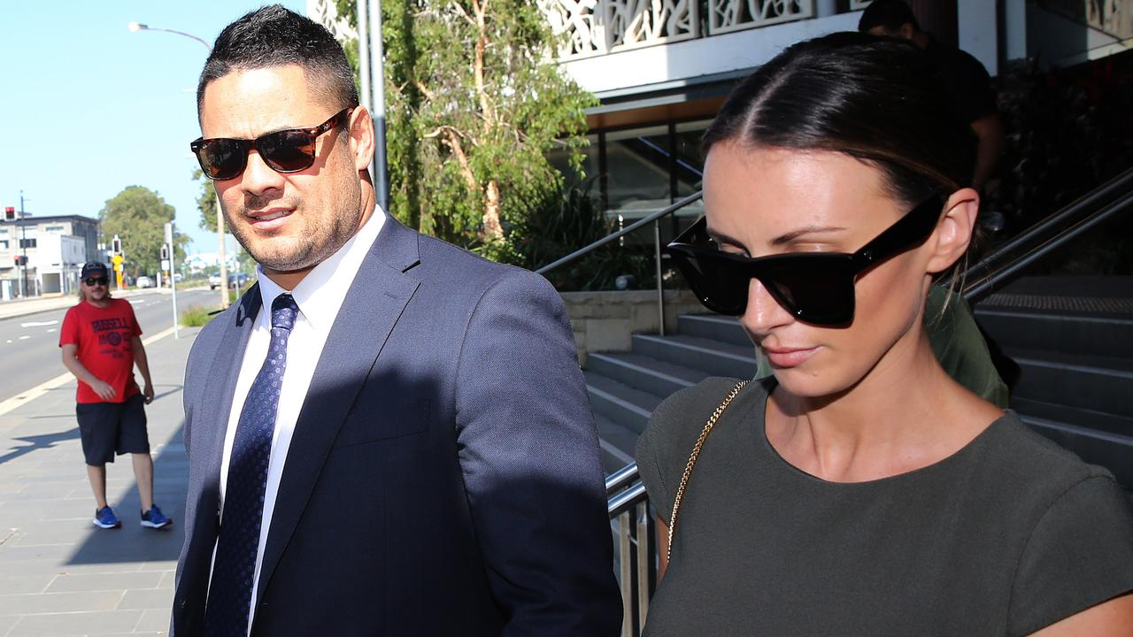 Hayne says the sex with the woman was consensual. Picture NCA NewsWire / Peter Lorimer