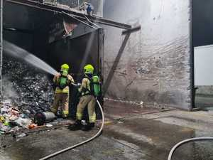 25 fireys needed to put out blaze at recycling plant