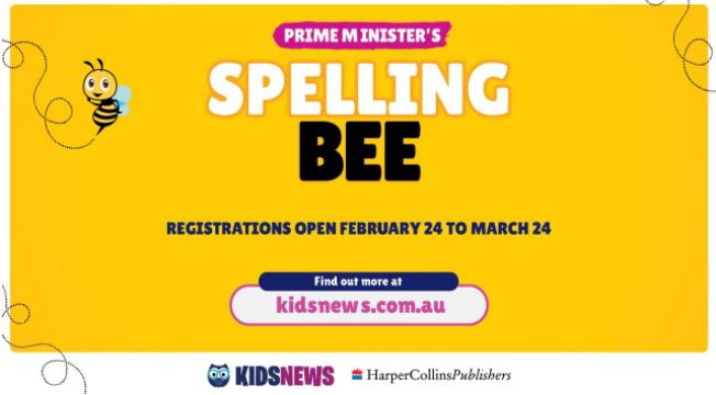 Registrations are now open for the 2021 Prime Minister's Spelling Bee.