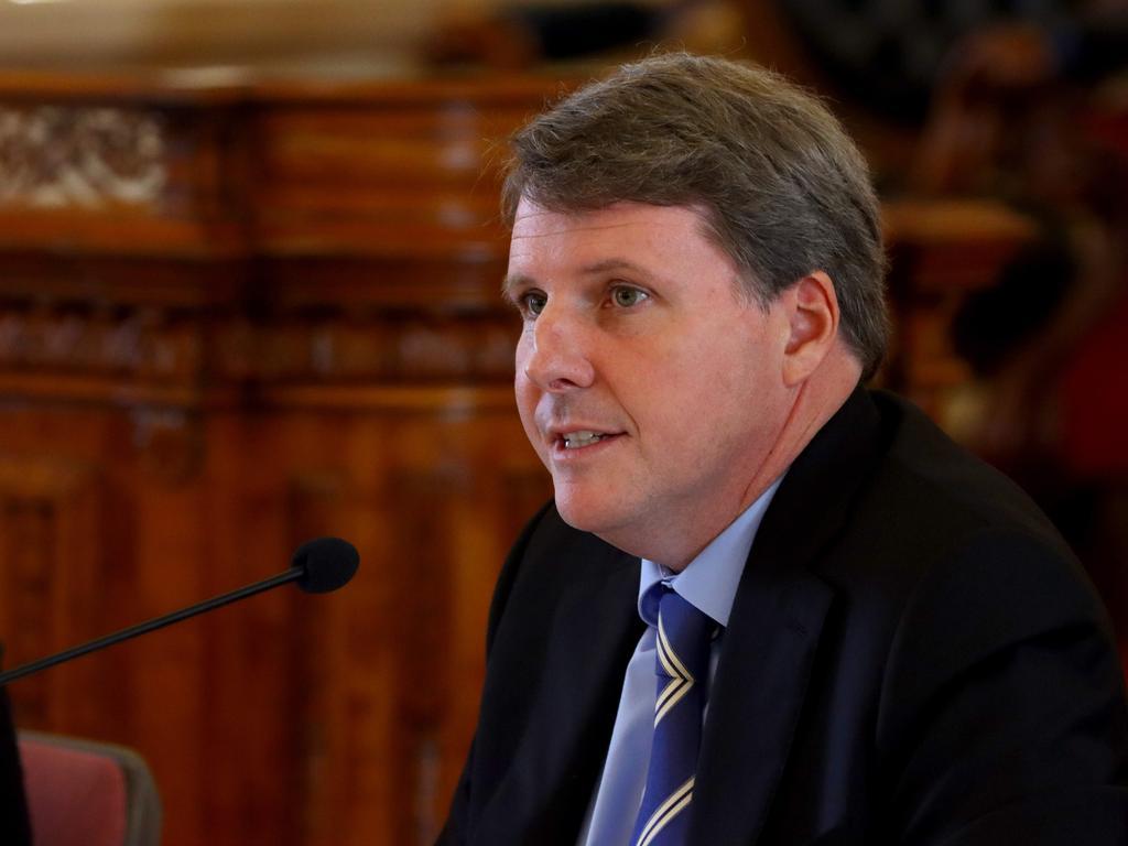 Opposition education spokesman Christian Rowan. Picture: David Clark