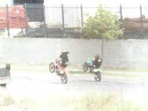 Footage helps police nab trail bike hoons
