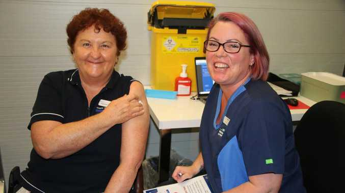 Vaccinations for Coast frontline workers edge closer