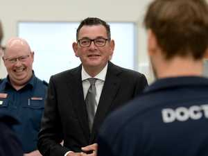 Daniel Andrews in ICU after 'nasty' fall