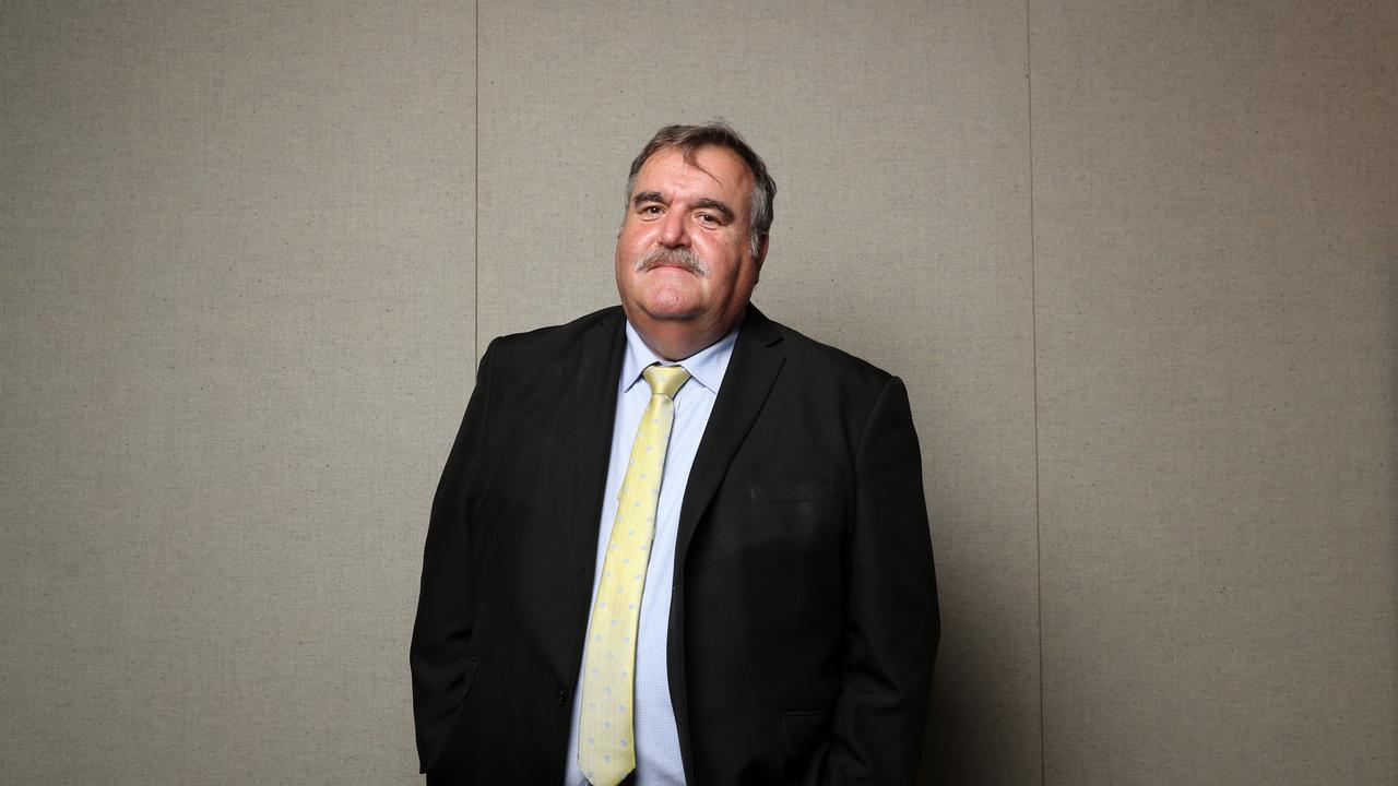 Martin Shaw from Wounded Heroes, a national organisation based at Wacol that provides immediate assistance for veteran homelessness. Picture: Jonathan Ng