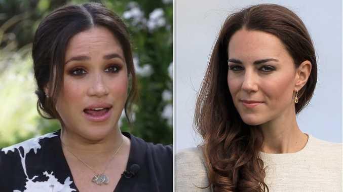 Meghan 'slammed the door' in Kate's face days before wedding