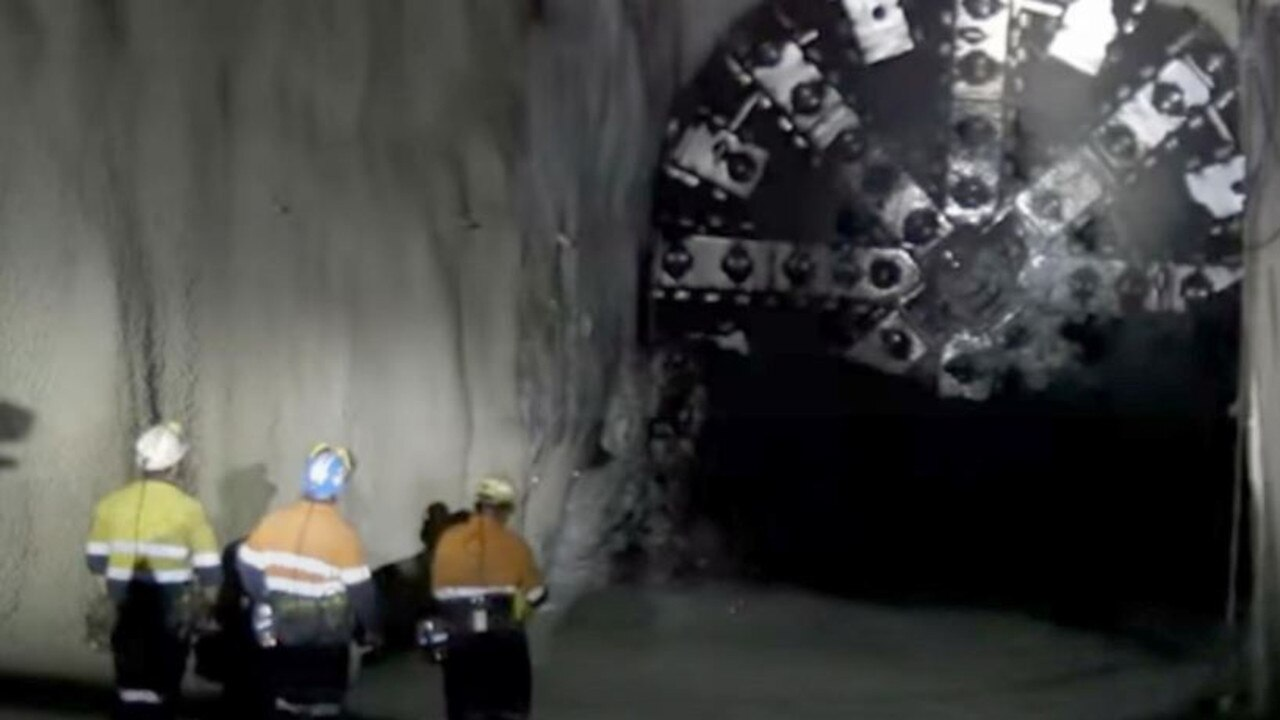 Inside Anglo American's Grosvenor Coal Mine near Moranbah. Picture: Youtube