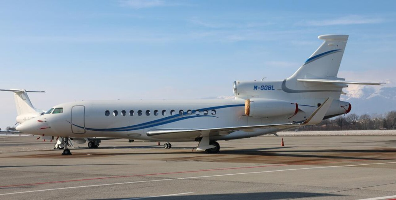One of the Greensill clan's private jets.