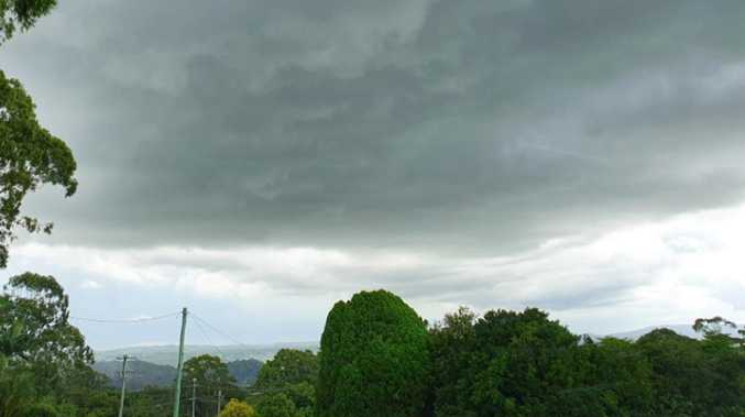 Thunderstorms could hit the Northern Rivers today