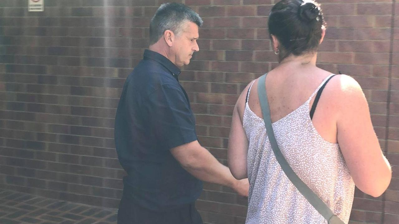 Terry David Atherton leaves Noosa Magistrates Court after being sentenced for driving under the influence. Picture: Laura Pettigrew