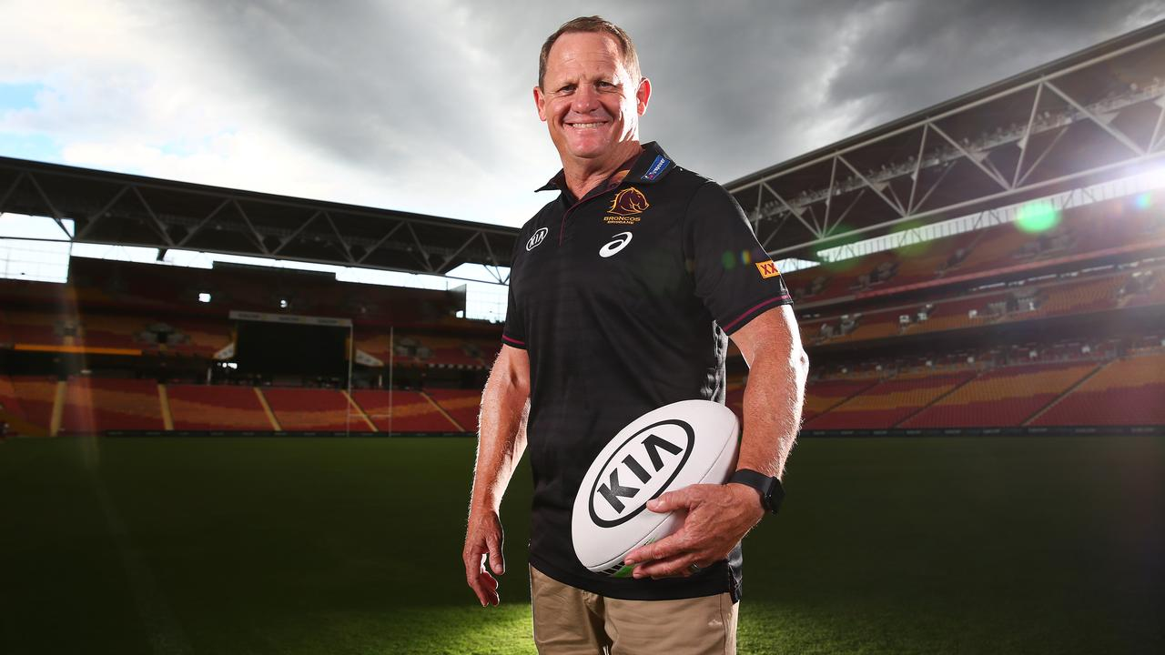 Kevin Walters got his wish to become Brisbane Broncos head coach. Picture: Adam Head