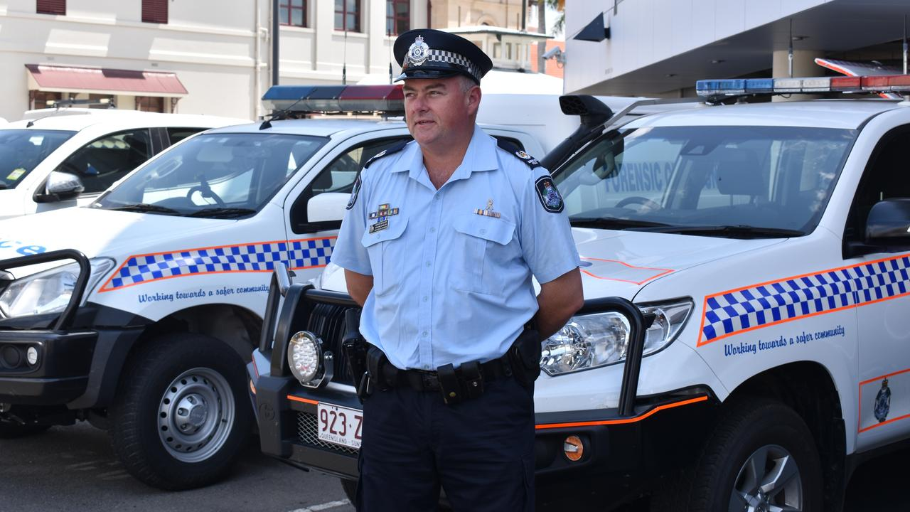 Senior Sergeant Shaune English appeals to drivers as the state exceeds the annual road toll.