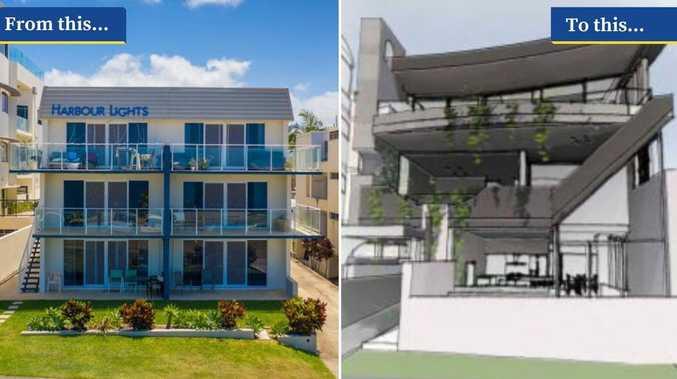 Classic beachfront units to go for 'modern' development