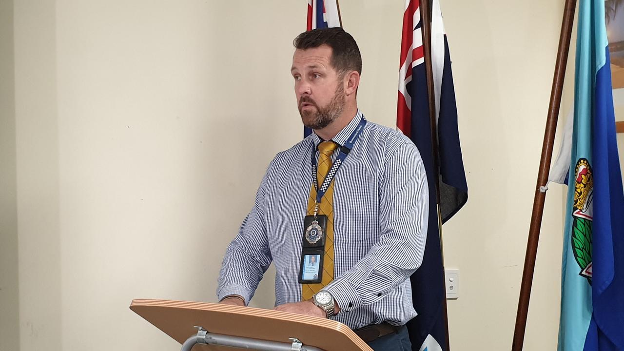 Detective Senior Sergeant Luke Peachey. Picture: Aden Stokes