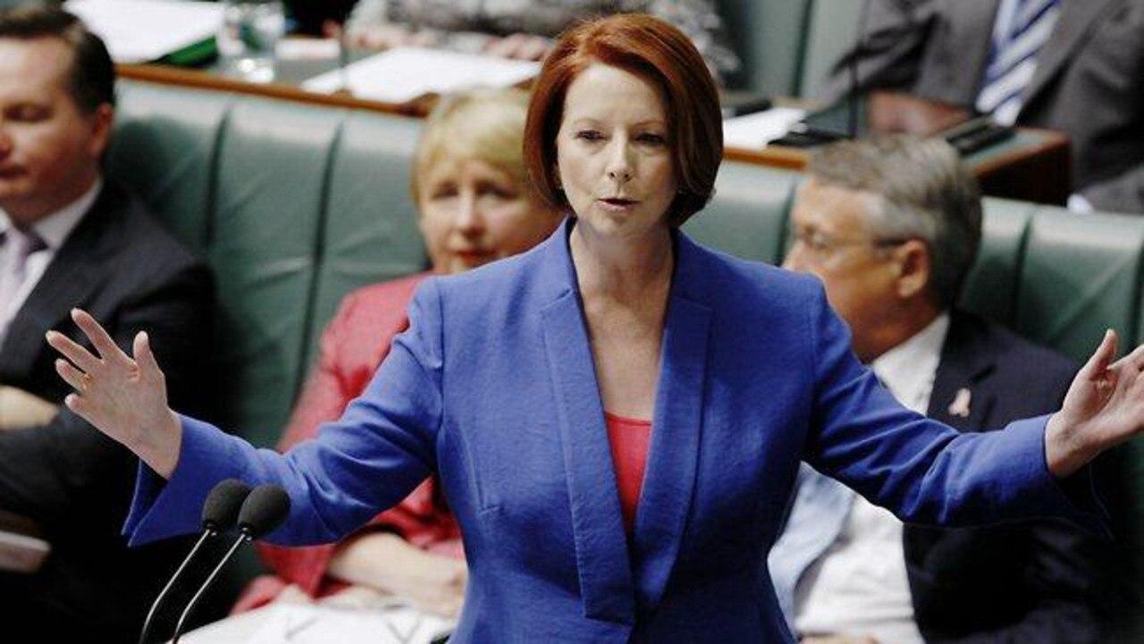 """It was inevitable that Julia Gillard would make that famous """"misogyny"""" speech in 2012."""