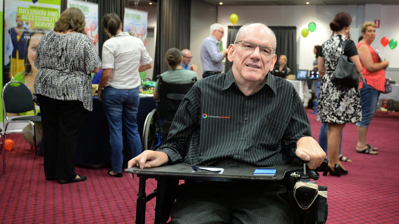 Queenslanders with Disability Network Chair Des Ryan.