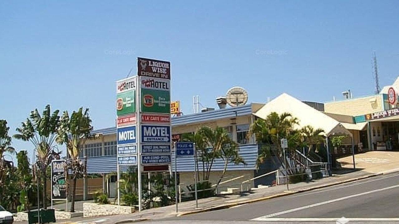 The Reef Hotel as it stood in 2000 before it was purchased by current owners the Ganim family. Picture courtesy of Christian Ganim.