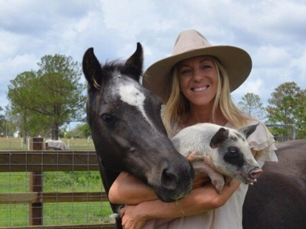 From the Ground Up Wellbeing Farm owner Kamala Paech has started offering animal and nature supported therapy programs for people living with disabilities and mental health.