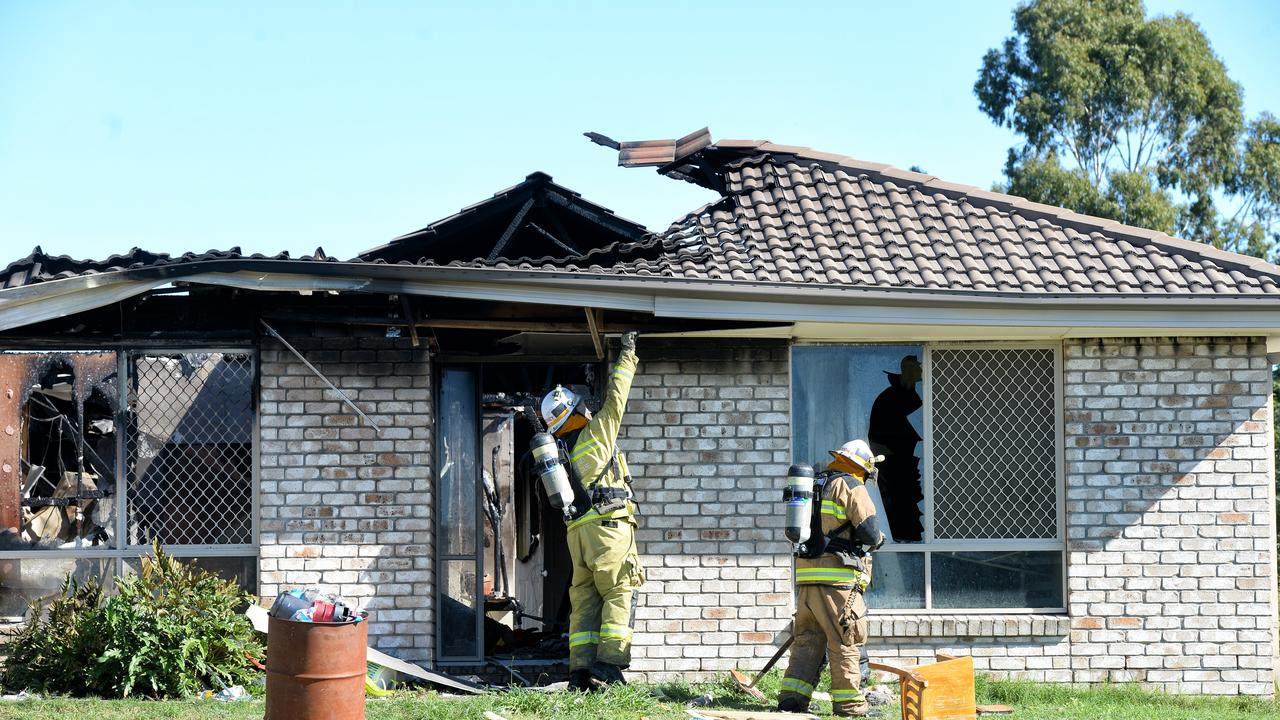 A house fire at Honeteater Place in Lowood in 2018 was deemed to have been an act of arson.