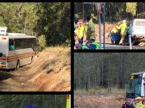 UPDATE: Man died at scene of Gympie school bus crash
