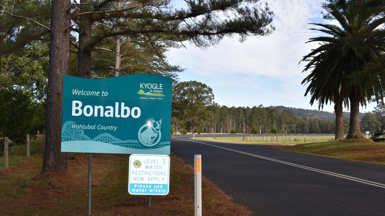 Bonalbo entry sign