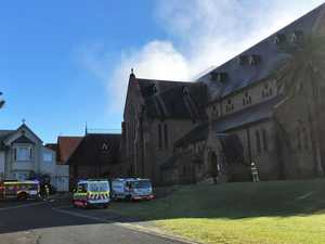 Man accused of cathedral fire back in court