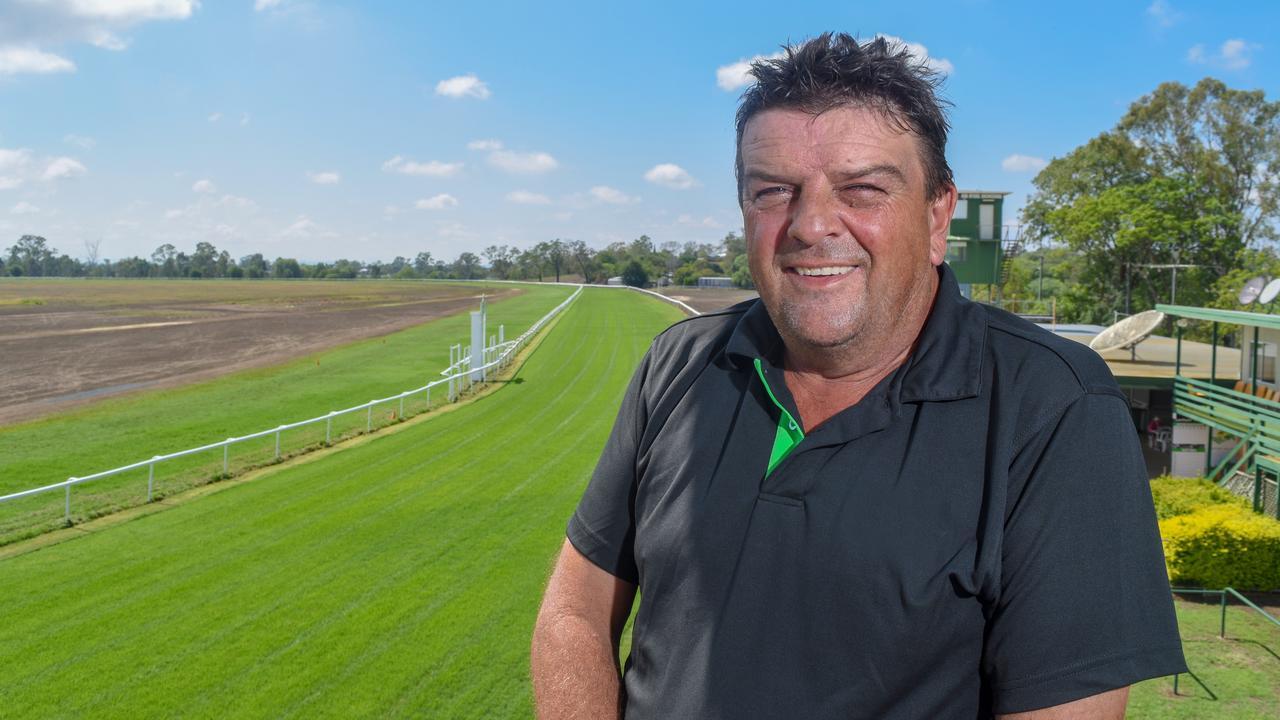 Lockyer Valley Turf Club president Terry Kirkwood.