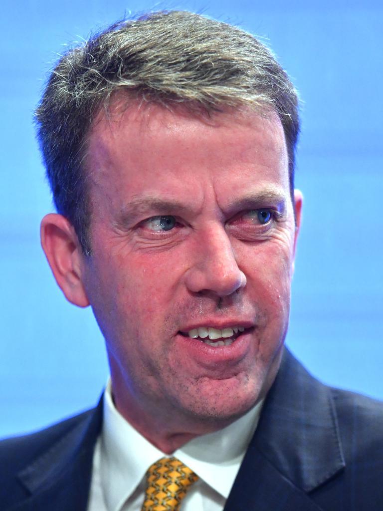 Tourism Minister Dan Tehan. Picture: Mick Tsikas