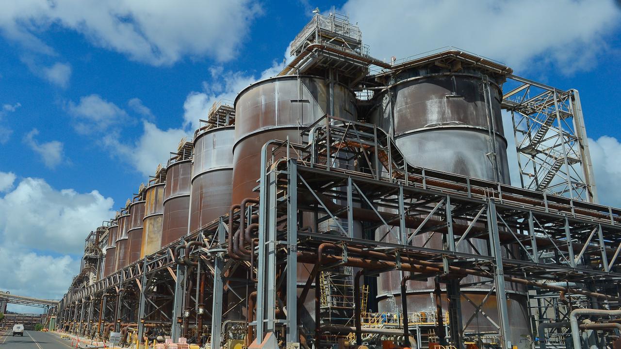 Rio Tinto Yarwun alumina refinery.