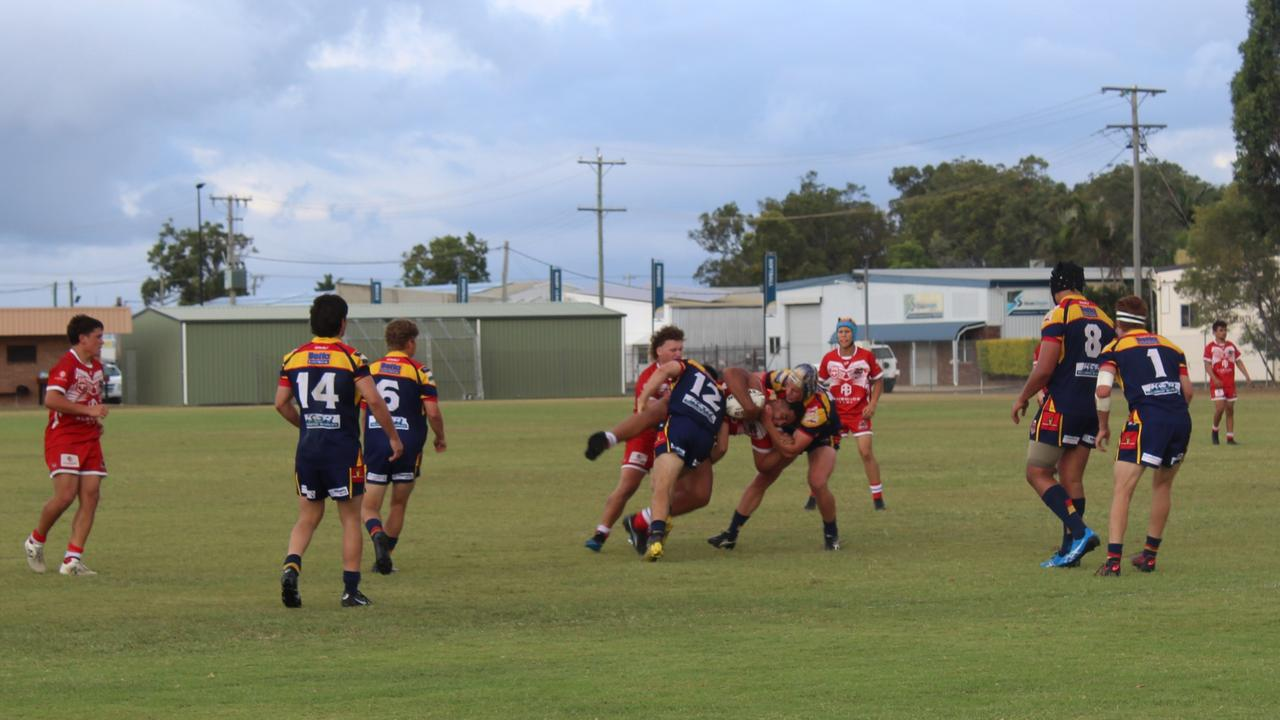 Round 1 of the Auswide Bank Mal Meninga Cup saw the U18 Wide Bay Bulls v Mustangs.