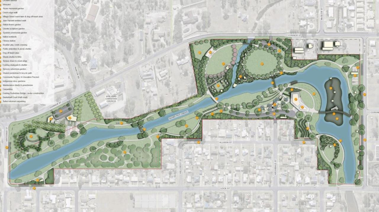 Plans for Stanthorpe Botanical Gardens. Picture: SDRC