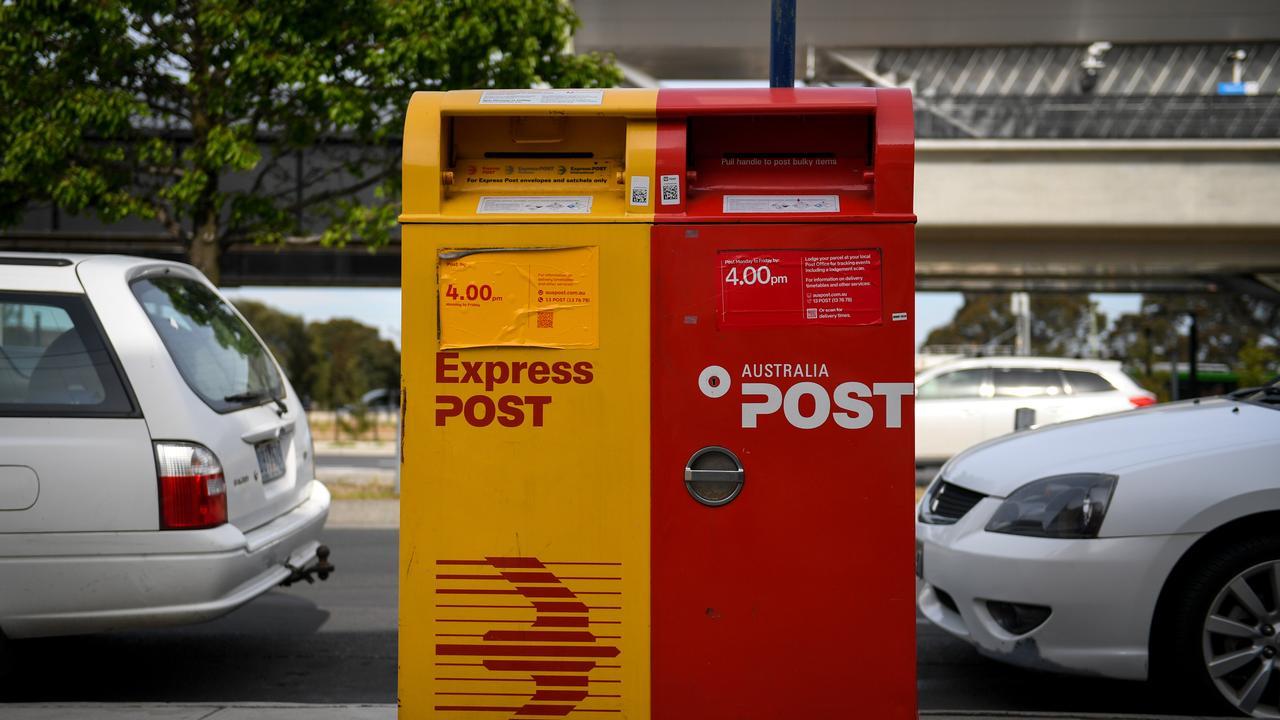 An Australia Post employee has faced court after a fight about a wheelie bin inside a home erupted.