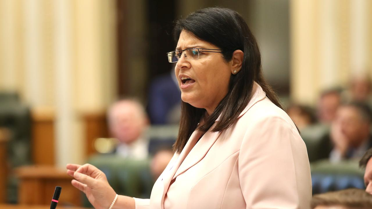 Education Minister Grace Grace told Queensland Parliament question time on Wednesday that she backed an examination into sexual consent education in schools across the state. Picture: NCA NewsWire / Jono Searle