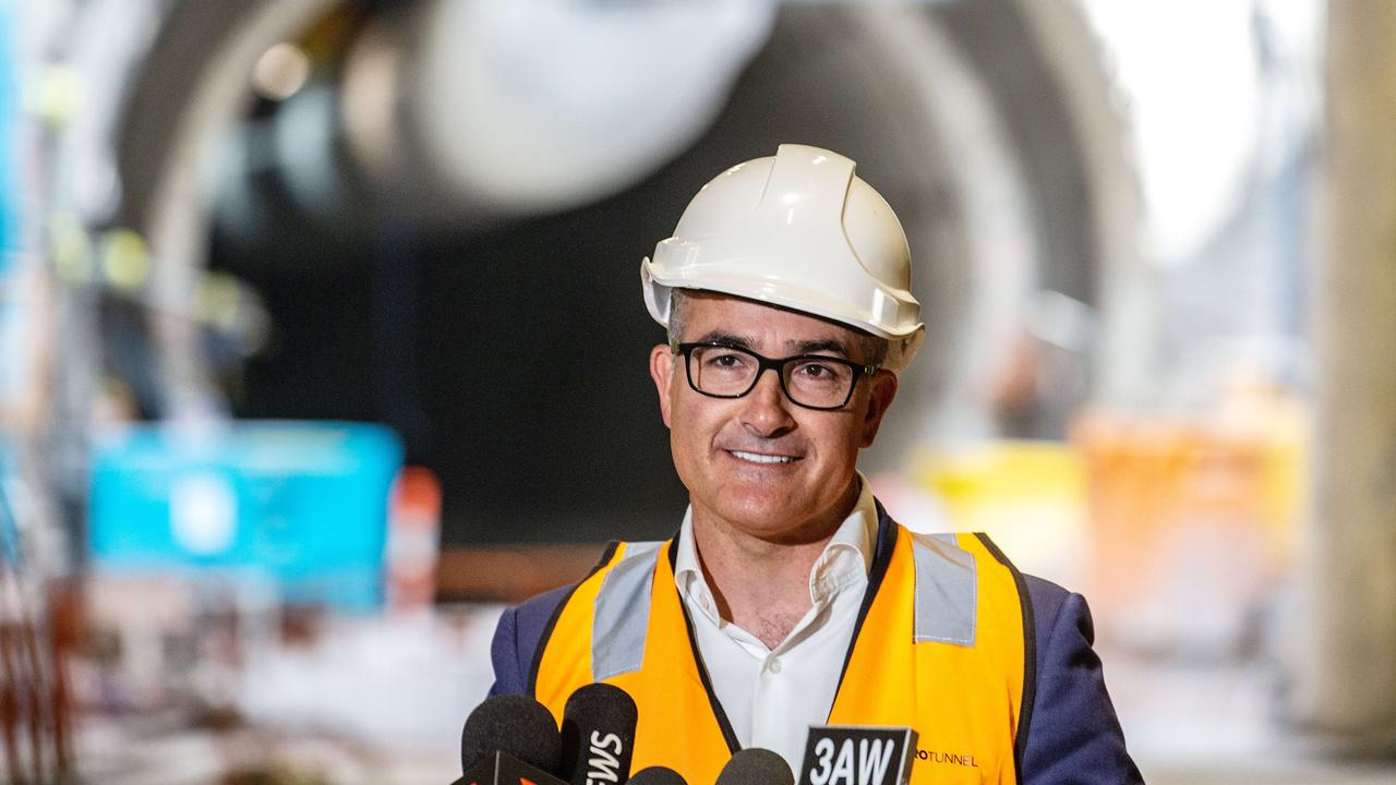 The Acting Premier, James Merlino, will be in the top job while the Premier recovers.