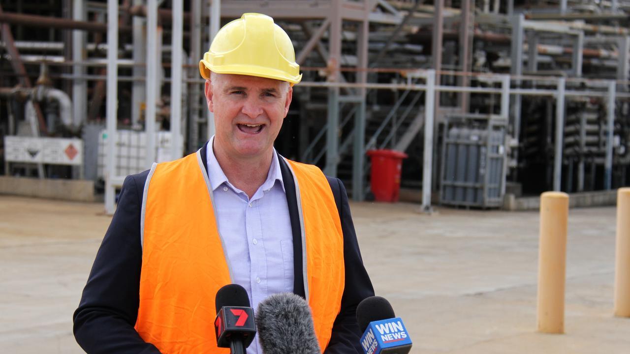 Gladstone MP and Water Minister Glenn Butcher.