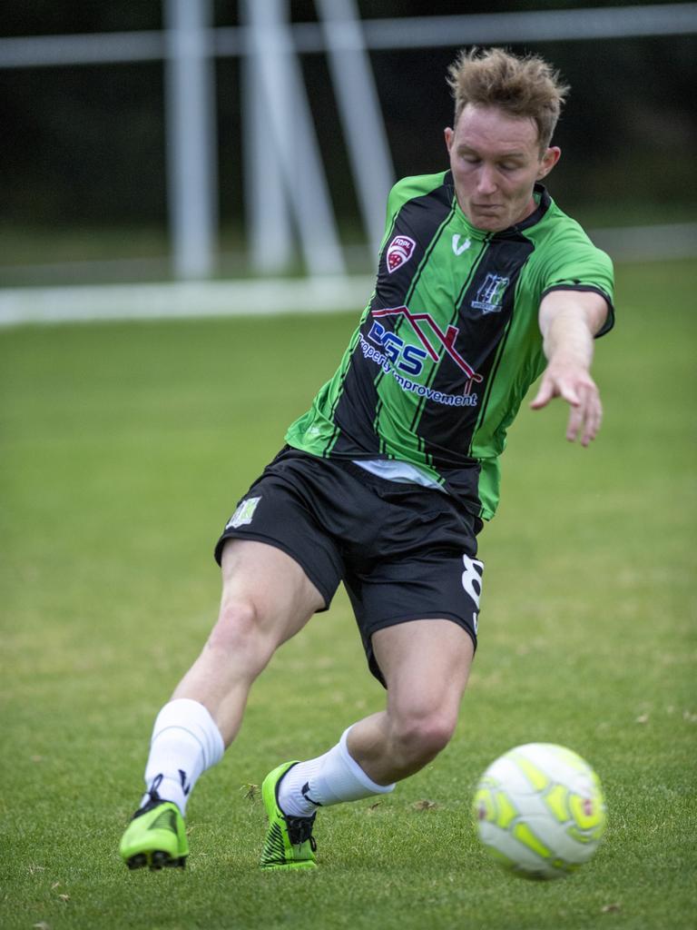 Ipswich Knights captain Josh Wilson. Picture: Nev Madsen