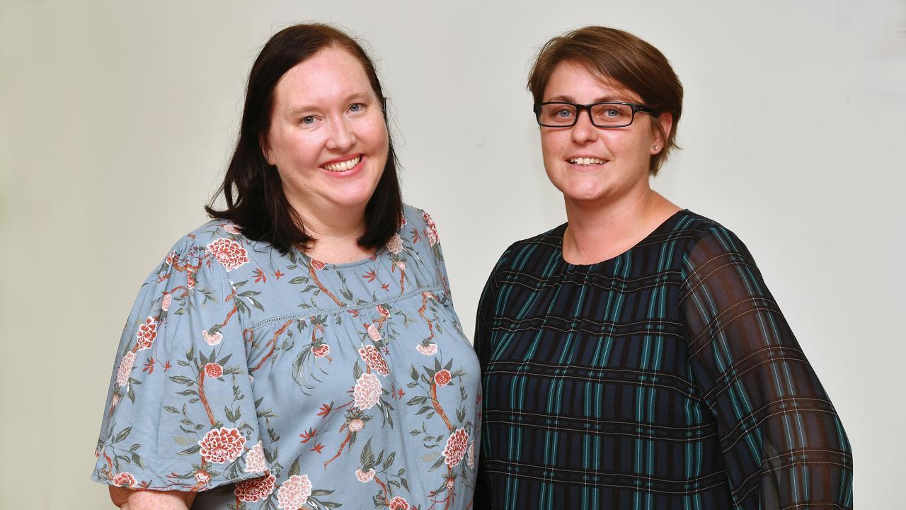 Daily Mercury Editor Rae Wilson and Deputy Editor Tara Miko. Picture: Tony Martin