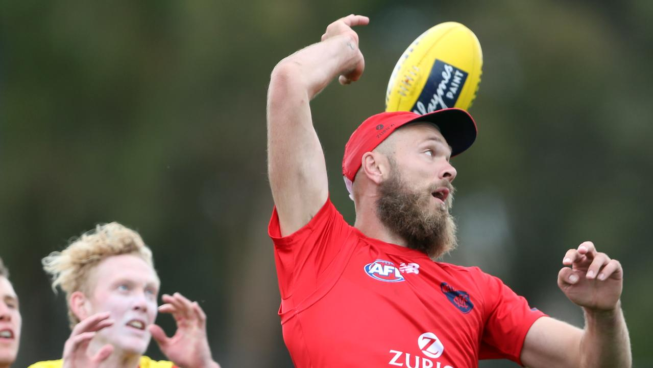 Max Gawn remains key to Melbourne's finals hopes. Picture: David Crosling