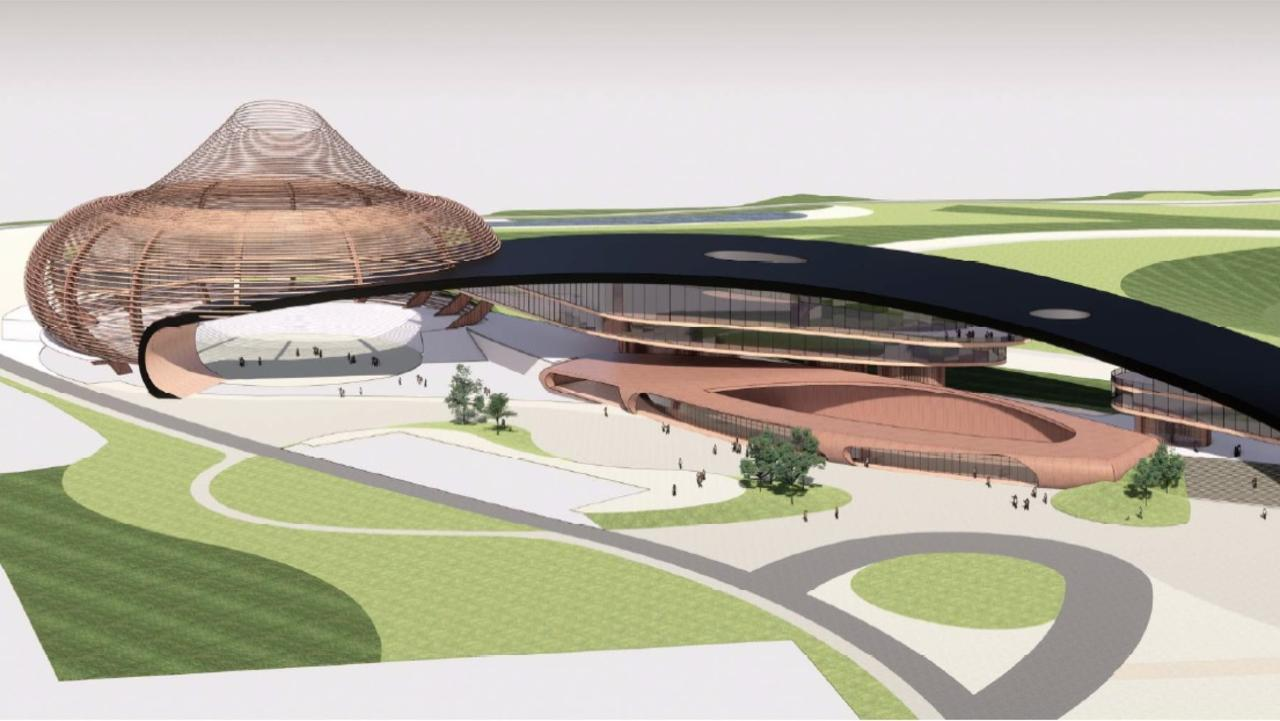 Concept designs for the Lockyer Valley Equine Precinct, which will be built at the Lockyer Valley Turf Club.