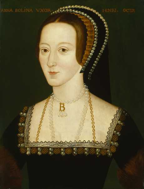 Portrait of Anne Boleyn, probably based on a contemporary portrait which no longer survives. Photo: Public Domain, Wiki Commons