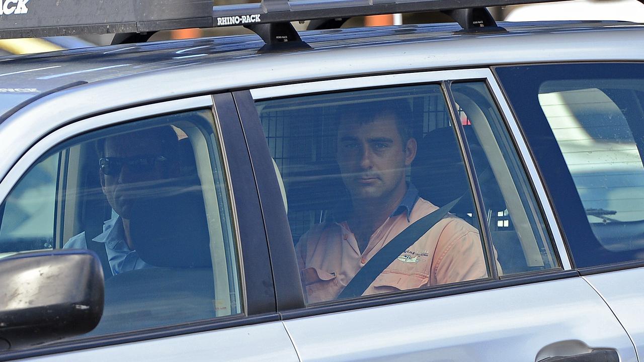 Josh Hoch after his arrest.