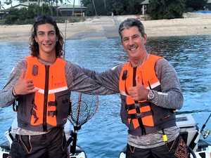 Whitsunday father and son embark on six-day ride for charity