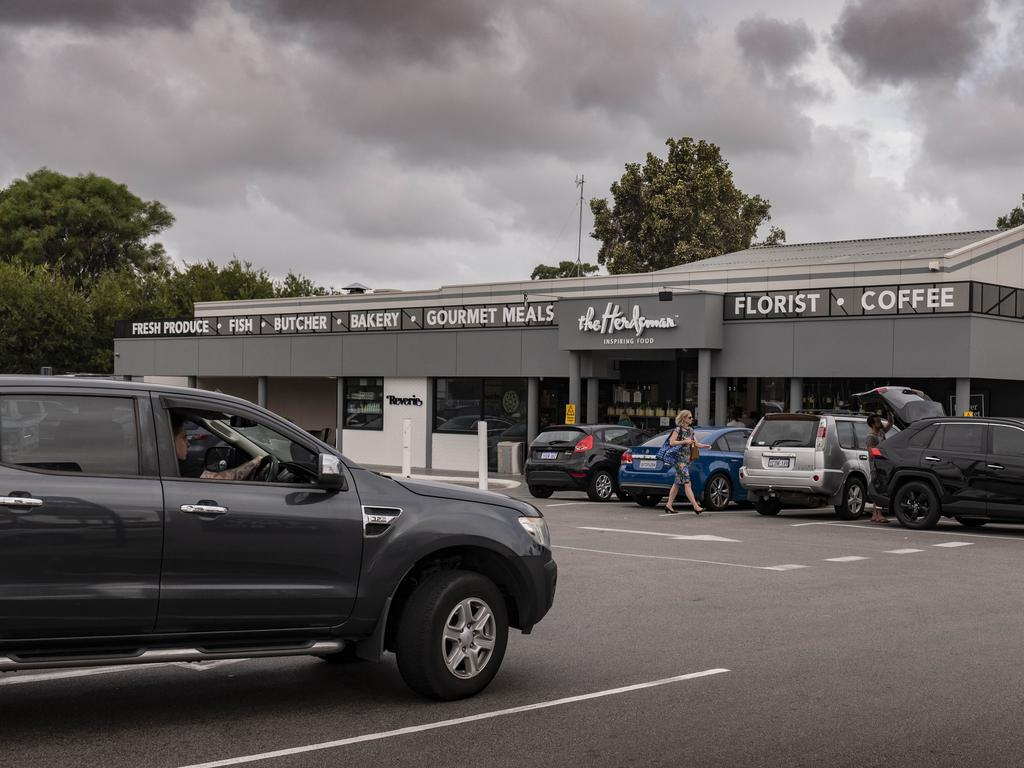 CCTV footage has revealed the man's car had been parked outside the Herdsman Markets for four days before anyone realised. Picture: NCA NewsWire / Tony McDonough
