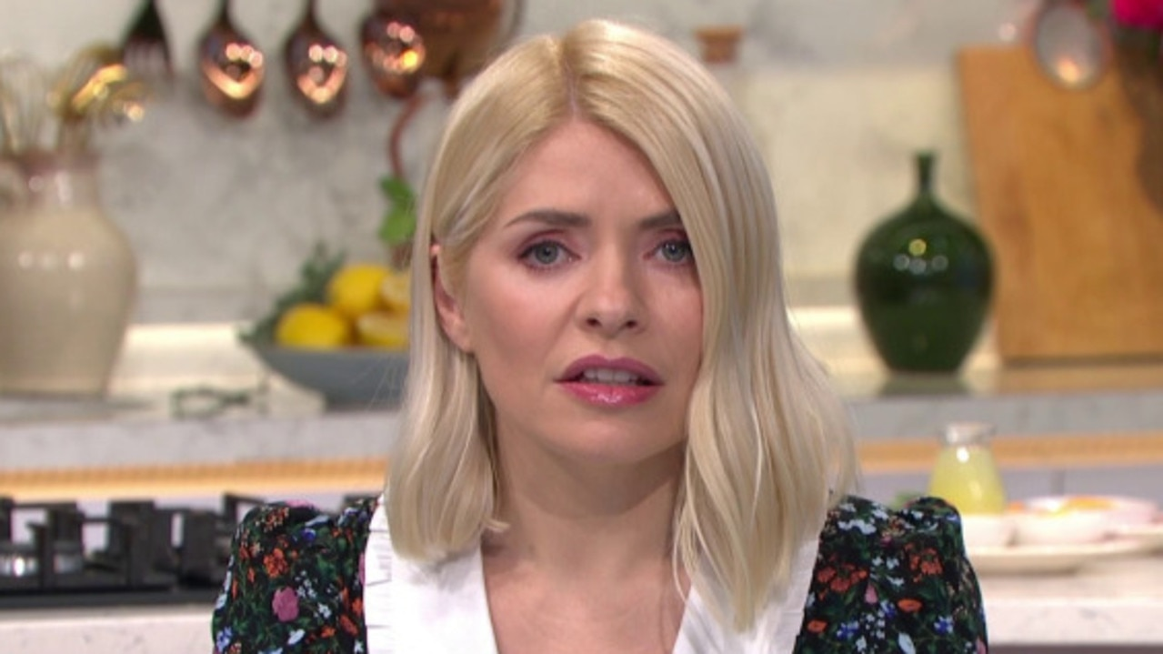 Presenters Holly Willoughby and Phillip Schofield took harrowing calls. Picture: This Morning