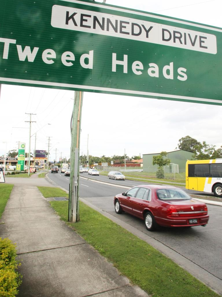 Traffic on Kennedy Drive, West Tweed.