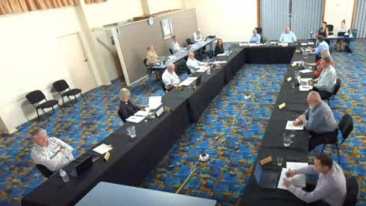 Bundaberg Regional Council meeting. Photo: File.
