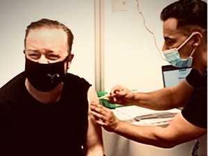 Ricky Gervais' savage reply to anti-vaxxers